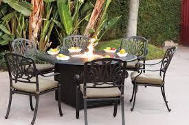 60 Patio Table Patio Furniture Dining Set Cast Aluminum 60 Propane