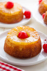 finest pineapple upside down cake shot photograph birthday cakes