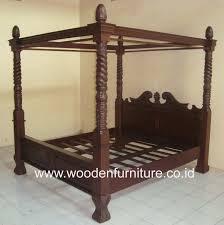 letto a baldacchino antico letto a baldacchino di teak legno quattro poster bed antichi