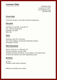 Example One Page Resume Best Marketing Executive Cover Letter Do You Need A Title Page For