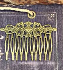 vintage hair combs vintage hair comb lds temple and gifts from nauvoo
