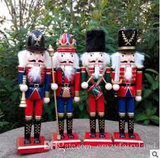 30cm wooden nutcracker soldiers puppet zakka creative