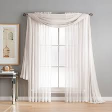 amazon com window elements sheer elegance rod pocket 108 x 84 in