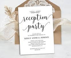 after the wedding party invitations luxury wedding reception invitation sheriffjimonline