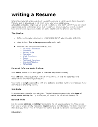 Skills To List On A Resume Download What To Include In A Resume Haadyaooverbayresort Com