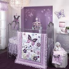Purple Girls Bedding by Sophisticated And Elegant Butterfly Toddler Bedding Babytimeexpo