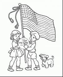 remarkable american flag coloring page with us flag coloring page