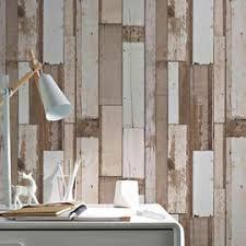 tapisserie bureau papier peint vinyle intissé bois naturel arcelot tapisseries