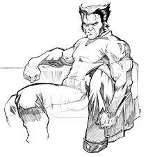 wolverine 28 superheroes u2013 printable coloring pages