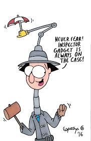 inspector gadget jon u0027s crazy stuff go go gadget fan art