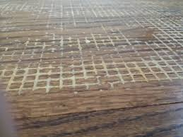 non slip rubber rug pad embedded in wood floor truckmount forums