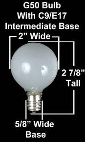 red satin g50 7 watt replacement bulbs 25 pack novelty lights inc