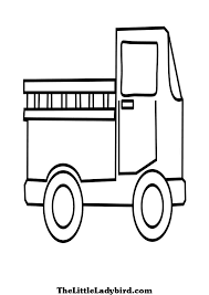 free vehicles coloring pages thelittleladybird