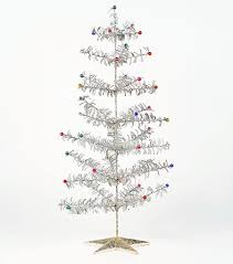 retro 1950s style glitter tinsel tree small nova68