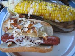 grilled corn grilled dogs korean german or polynesian style