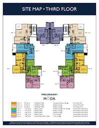Ryland Townhomes Floor Plans by Wlh Affinity Moda Site Map 3 Jpg
