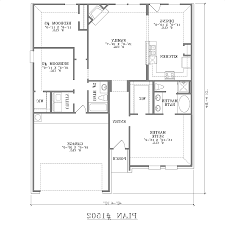 Single Storey Floor Plans by Home Design 3 Bedroom Bungalow House Floor Plans Designs Single