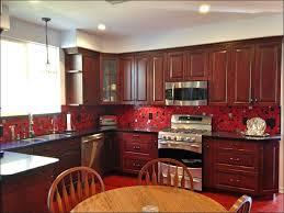 Red Black White Kitchen - kitchen grey kitchen walls country kitchen wall decor kitchen