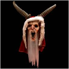 official krampus mask mad about horror