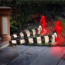 spooky wicked witch of the east pre lit legs halloween decor