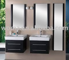 double sinks in a small bathroom