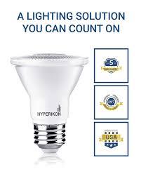 Utilitech Par20 Led by Hyperikon Par20 Led Bulb Dimmable 8w 50w Equivalent 2700k
