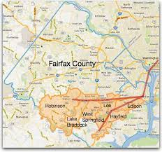 fairfax county map vre top 6 boundaries for commuting to dc