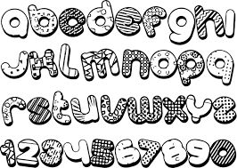alphabet shape and number coloring page wecoloringpage