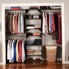 closetmaid closet organizer kit with shoe shelf 5 u2032 to 8 u2032 home