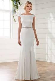 australian wedding dress designer fit and flare wedding dress with keyhole back australia wedding
