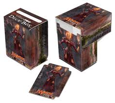 ultra pro deck box m14 chandra top loading box cape and cowl