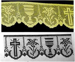 imagenes religiosas a crochet miria crochês e pinturas barrados de crochê com motivos religiosos