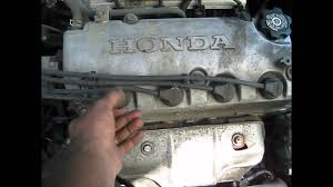 1999 honda civic 4cyl spark plugs wires how to replace walk