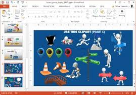 animated board game template for powerpoint