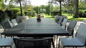 mobilier exterieur design table de jardin hegoa les jardins mobilier d u0027extérieur design