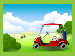 free golf invitation template course a great background for