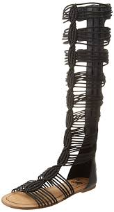 footwear knee high gladiator sandals rhinestone gladiator