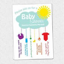 Blank Invitations Baby Shower Invitations Neutral Colors Blank Barberryfieldcom