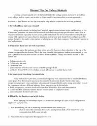 Best Resume Examples For It by Sampleshtml College College Application Resume Examples For High