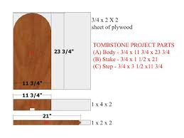 halloween decoration how to make a wooden tombstone how tos diy