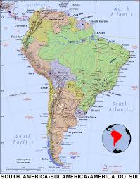 The Map Of South America by South America Public Domain Maps By Pat The Free Open Source