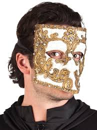 black bauta mask bauta mask gold partynutters uk