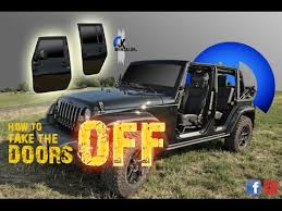 how to take doors a jeep wrangler jeep wrangler jk how to take the doors fast motion