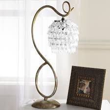 swirls u0026 drops table lamp pier 1 imports