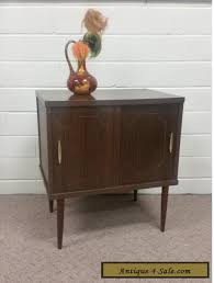 mid century record cabinet vintage mid century modern record cabinet storage media antique