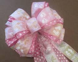 baby shower ribbon baby shower bow etsy