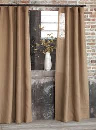 Smocked Burlap Curtains Curtain Smocked Burlap Panels Extraordinary Adelaparvu Comspre