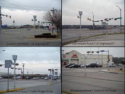 red light ticket texas red light traffic city of duncanville texas usa