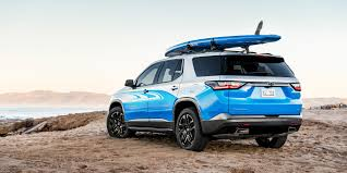 chevrolet traverse blue 2018 chevrolet traverse sup concept revealed for sema photos 1