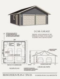 24 x 24 garage plans plan 576 3a 2 car garage 24 x 24 24x26 garage plans 8